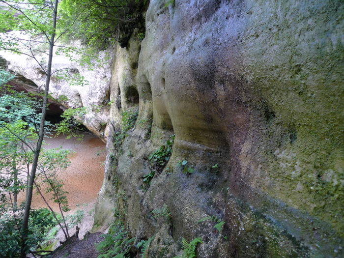 14. Explore the natural sand cave in Ewing.