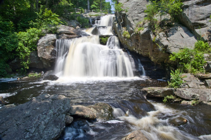 The only way to find out is to visit! Camping here is a chance to explore the park like never before, and see one of Connecticut's greatest natural wonders. There's no better camping than beside a waterfall!