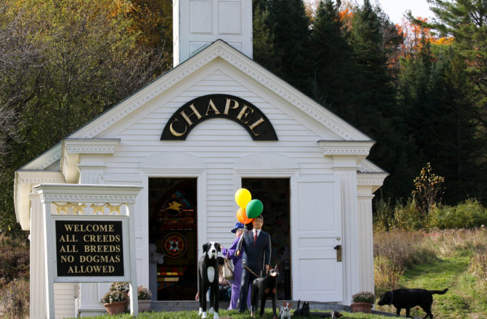 10.  Pay your respects to your four legged friends at the Dog Chapel in St. Johnsbury.