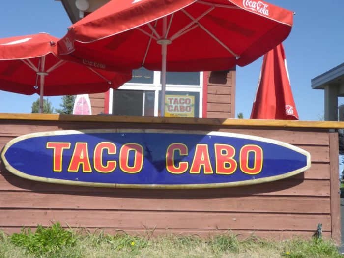 1. Taco Cabo (Steamboat Springs)