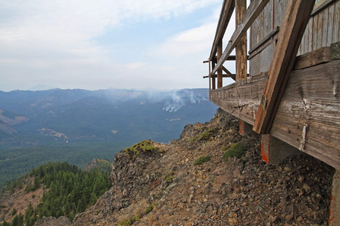 11. Stay in a fire lookout tower while you're at it!