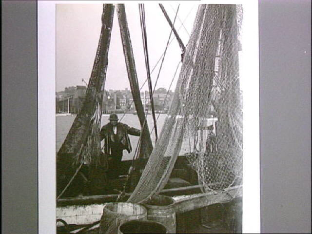 7. Working on a fishing boat, Newport