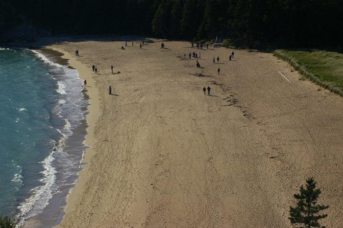 3. Sand Beach, Acadia National Park