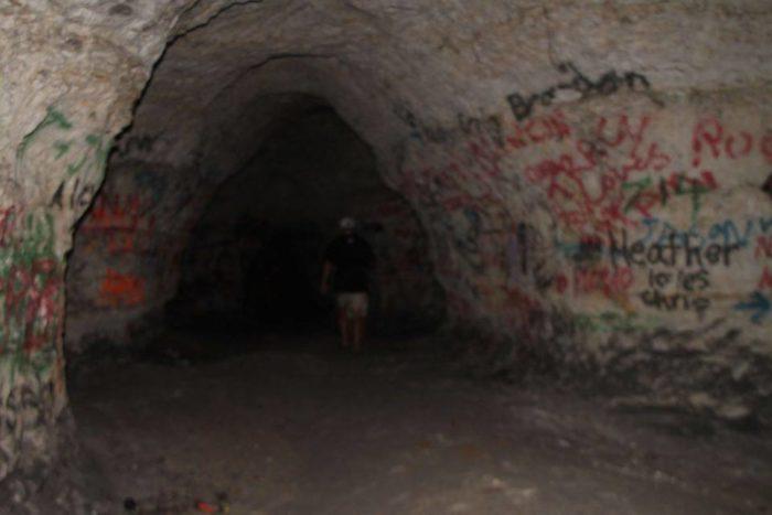 4. Chalk Mine, near Eastport