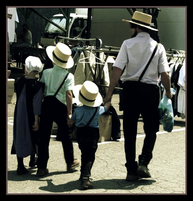 4. Question if everyone in Pennsylvania is Amish.