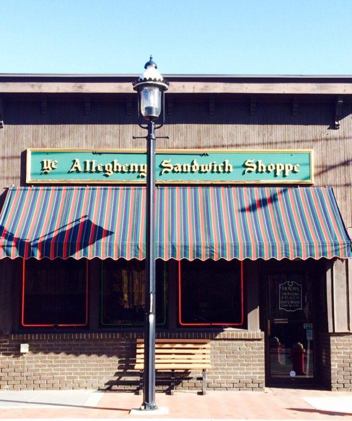 4. Allegheny Sandwich Shoppe – 822 Western Avenue