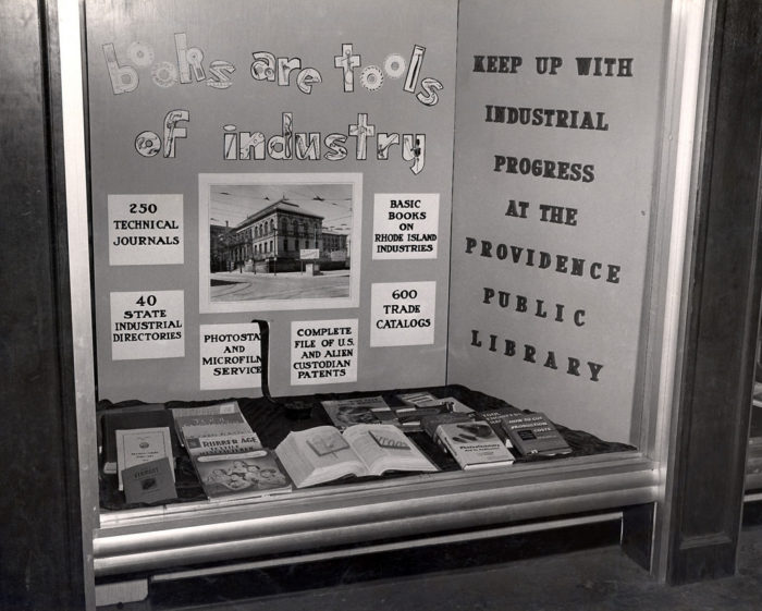 4. Display at the Providence Industrial Exposition, May 1950