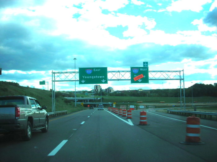 1. You've traveled next to orange barrels for (what's felt like) nearly the entire length of the highway stretch in your trip.