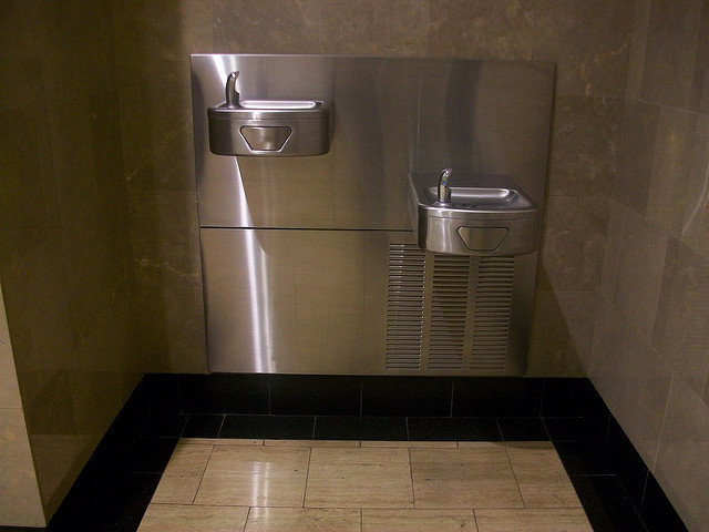 5. Don't call a bubbler a drinking fountain.