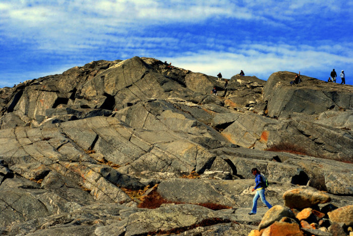 If you follow the trail all the way to New Hampshire, you can scale the summit of Mount Monadnock.