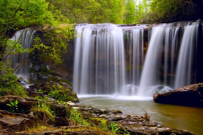3. Brasstown Falls