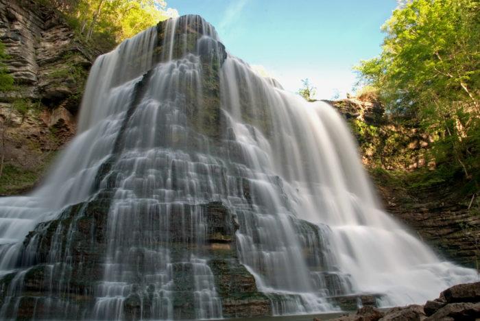 8. Burgess Falls