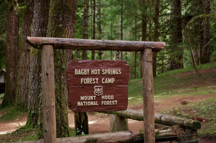 Bagby Hot Springs, Mt. Hood National Forest, Oregon