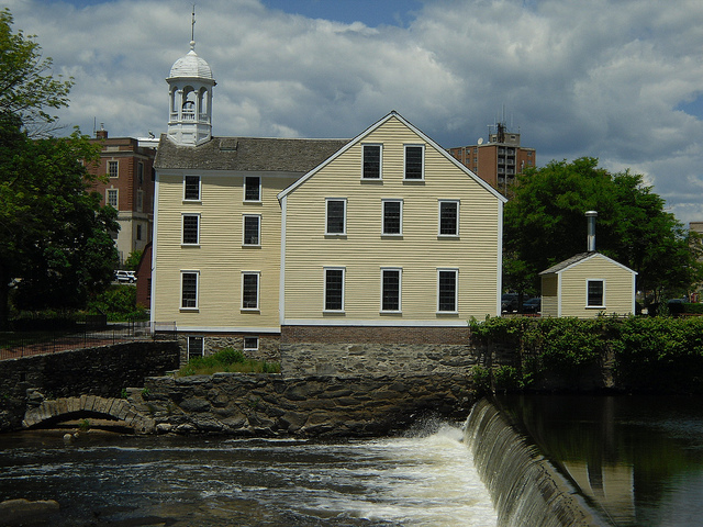 1. Slater Mill Historic Site, Pawtucket