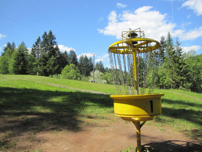 1. Play a round of disc golf at Chehaw Park.