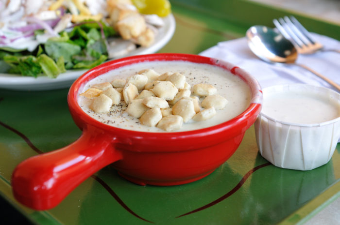 18. And of course, clam chowder.