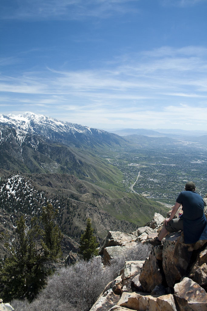 4. But then you get to the top and feel like you and your hiking buddy are the only two people on the planet.