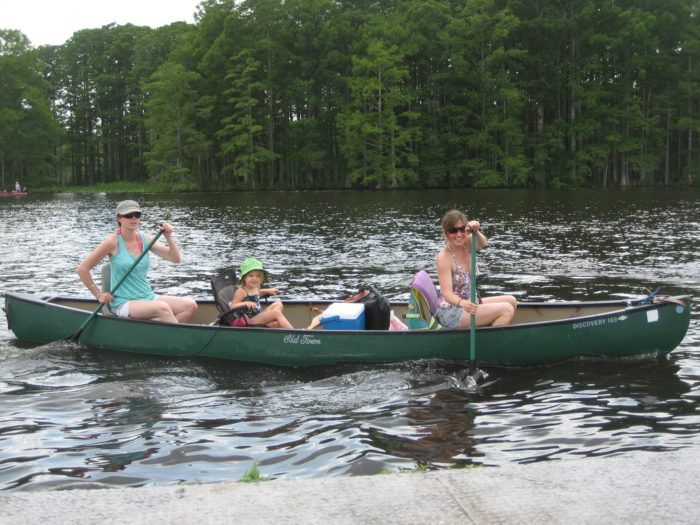 1. Paddle down the James River.