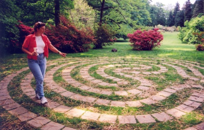 The Fairy Flower Labyrinth is next on your path.