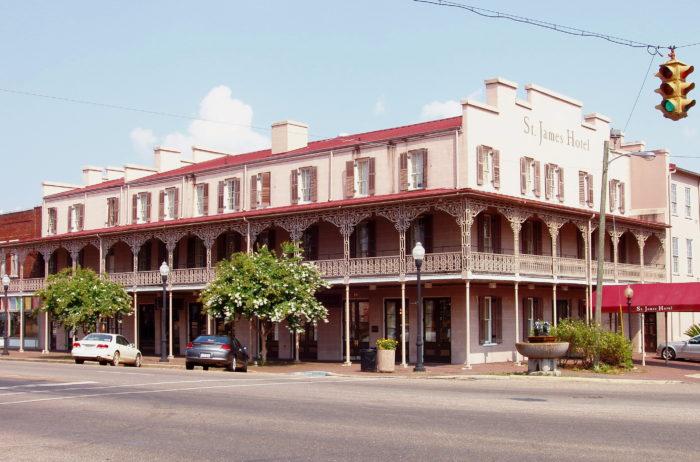 8. St. James Hotel - Selma