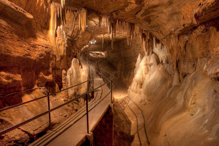 Seneca Caverns is one of West Virginia's most beautiful caves.