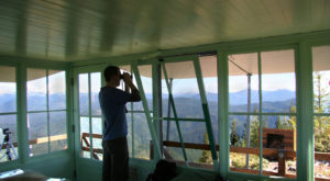 Spend The Night On Top Of The World At These 5 Stunning Fire Lookouts In Oregon