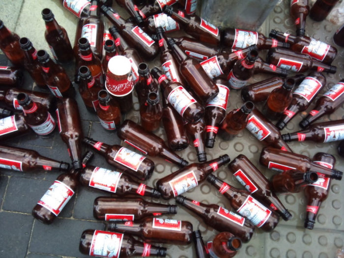 10.  You're at a social gathering and more people are drinking Budweiser than VT craft beer.