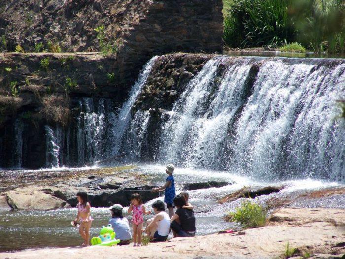10. Watson Mills Falls, Comer, GA