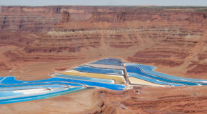 After the explosion, mining operations shifted to a system of solution mining and evaporation.