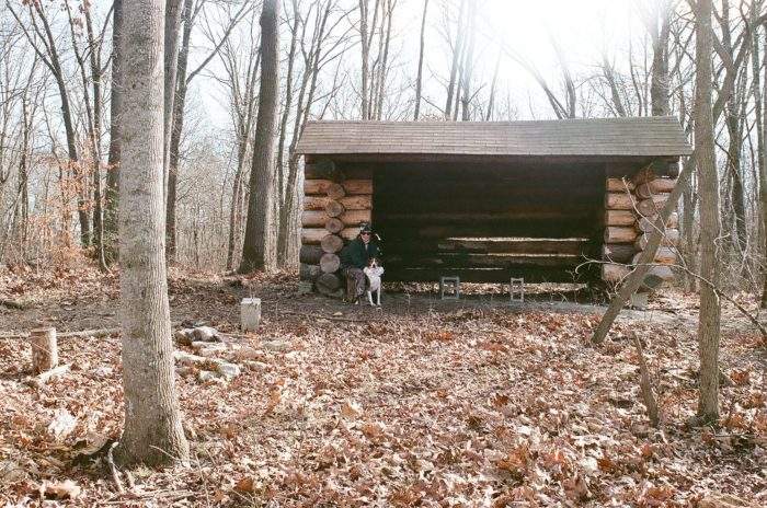 There are multiple shelters throughout the forest, in case you run into bad weather.