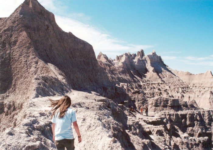 1. The jagged buttes of Badlands National Park