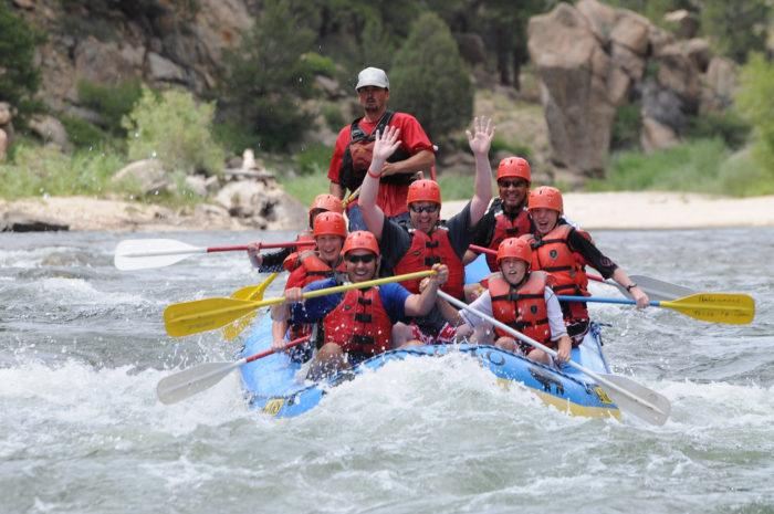 5. Brave the rapids!