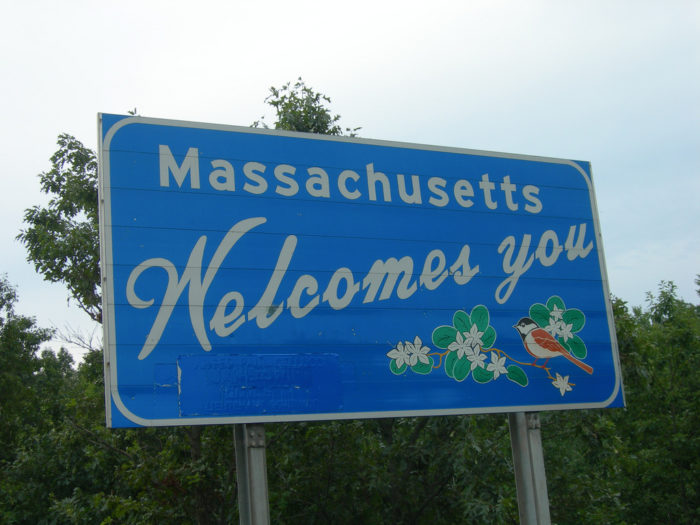 14. Be from Massachusetts and drive a car.