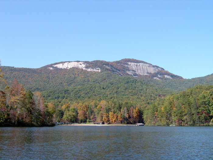 Table Rock State Park was built in the 1930s on land donated by Pickens County and the City of Greenville.