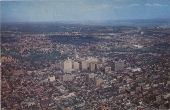 3. Here's another stunning aerial view of Wilmington