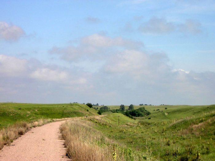 1. Go hiking or biking on the Cowboy Trail.