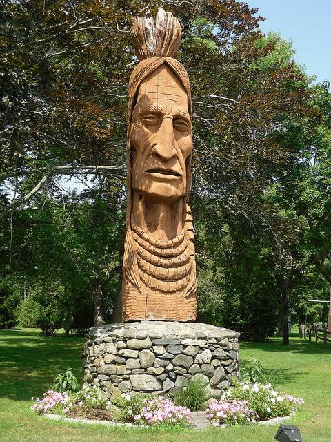 7. Narragansett Indian Monument, Narragansett