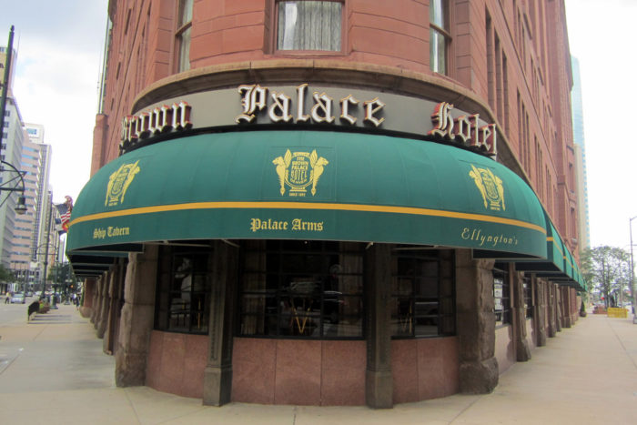 4. Brown Palace Hotel