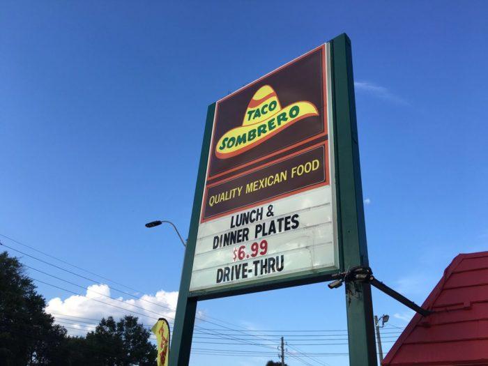 4. Taco Sombrero, Gulfport and Biloxi