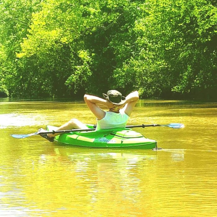 5-16-16 14 Mile paddle down Uwharrie River NC - My Happy Place