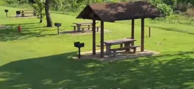 The park also has a picnic area…