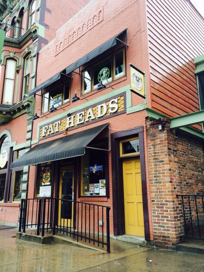 5. Fat Head's Saloon - 1805 E Carson Street