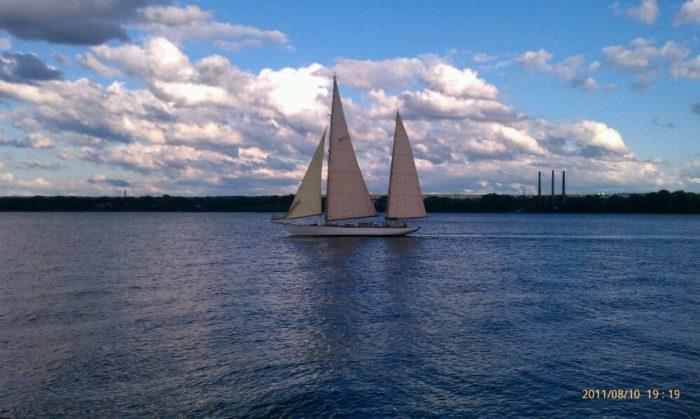 Enjoy the waning summer sun aboard a sailboat.