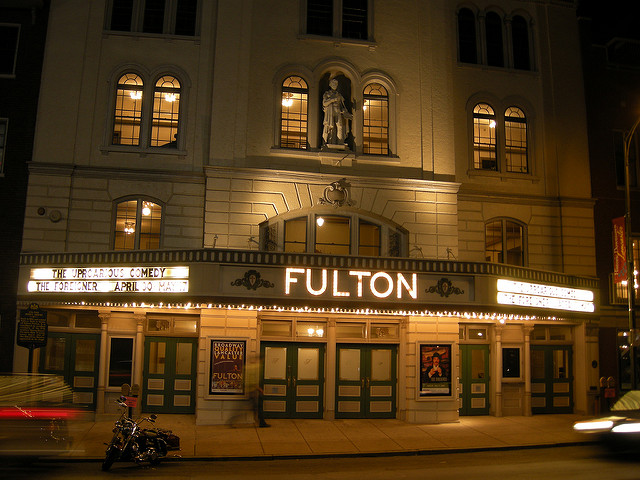 5. The Fulton Theater – Lancaster