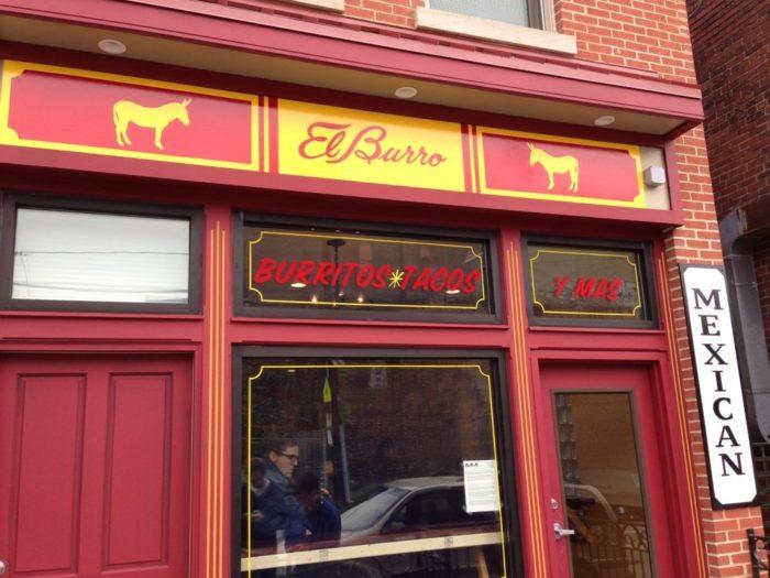 5. El Burro – 1108 Federal Street