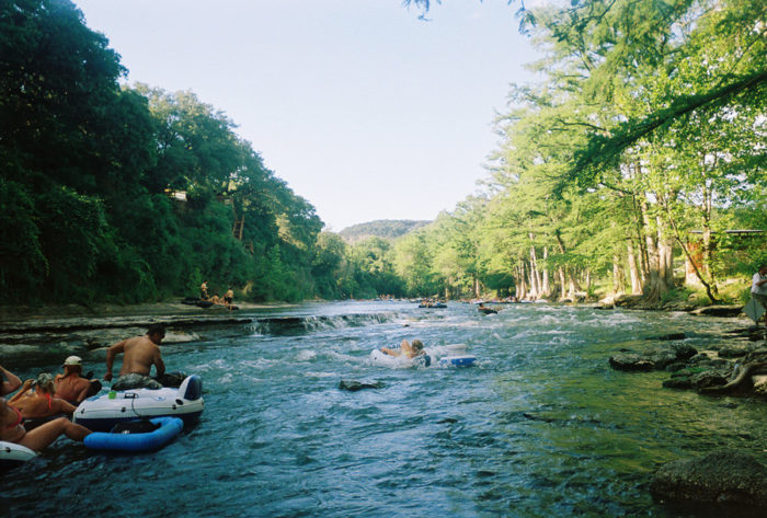 6. Tubing on the Guadalupe River (New Braunfels)