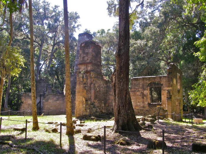 3. Bulow Plantation Ruins Historic State Park, Ormond Beach