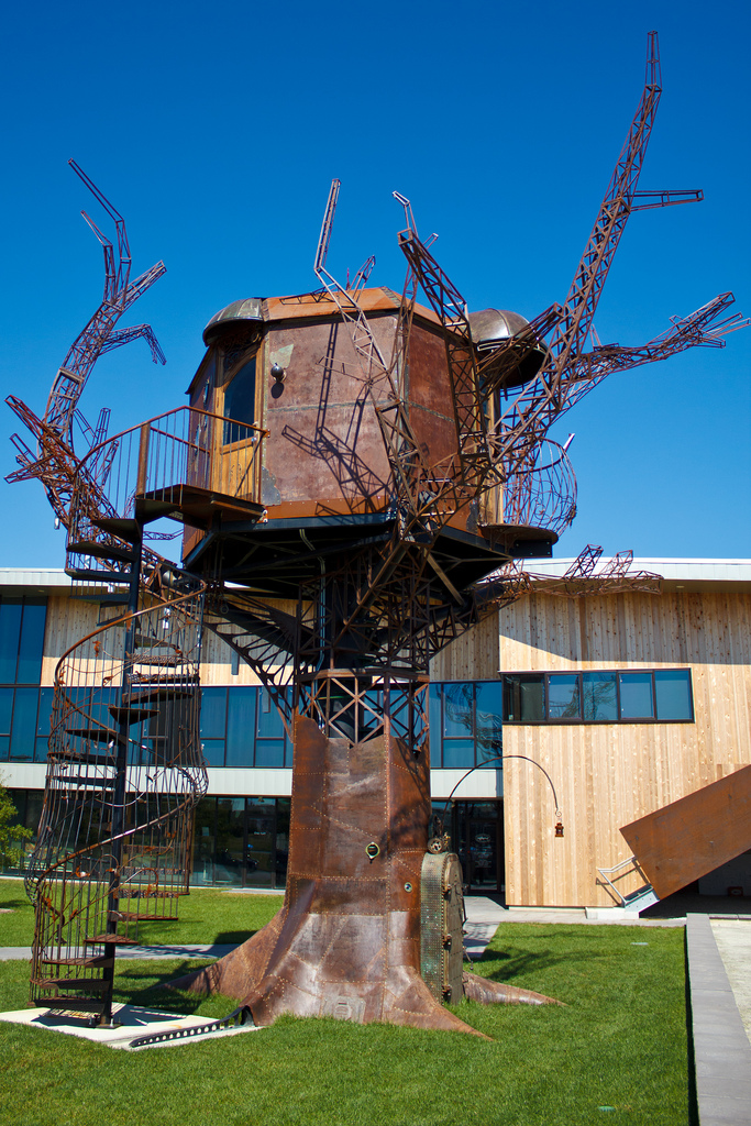 3. The Steampunk Tree House