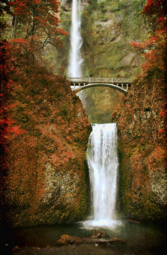 8. Multnomah Falls