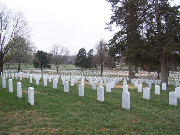 ...and haunting Fort Scott National Cemetery.
